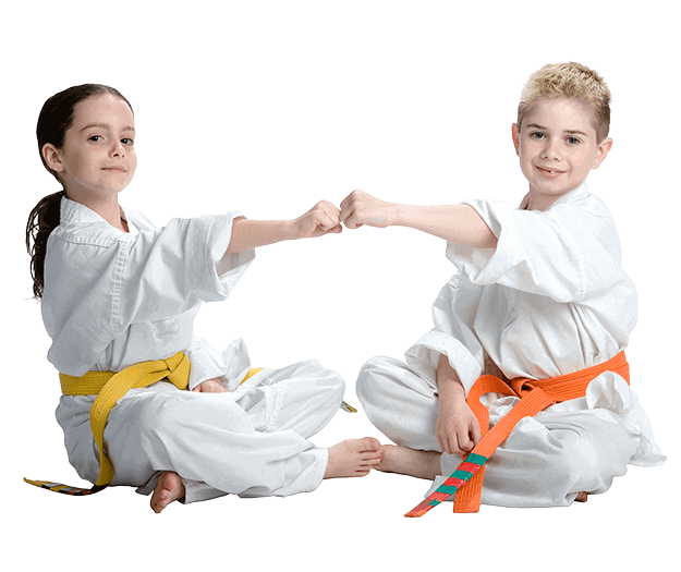 Martial Arts Lessons for Kids in __CITY__ __STATE__ - Kids Greeting Happy Footer Banner