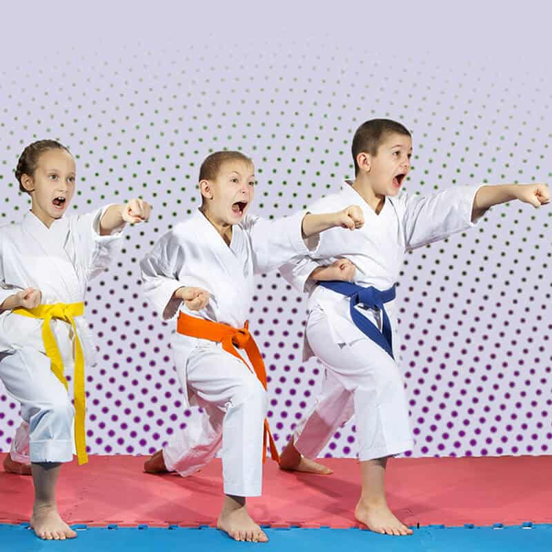 Martial Arts Lessons for Kids in __CITY__ __STATE__ - Punching Focus Kids Sync