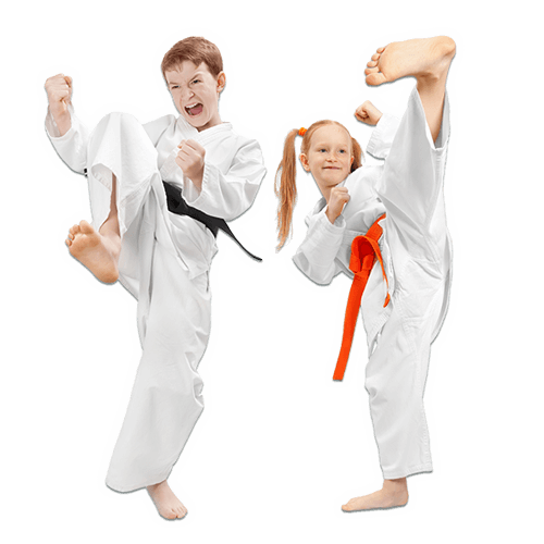 Martial Arts Lessons for Kids in __CITY__ __STATE__ - Kicks High Kicking Together