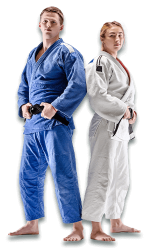 Brazilian Jiu Jitsu Lessons for Adults in __CITY__ __STATE__ - BJJ Man and Woman Banner Page