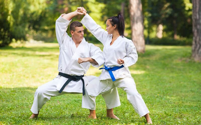 Martial Arts Lessons for Adults in __CITY__ __STATE__ - Outside Martial Arts Training