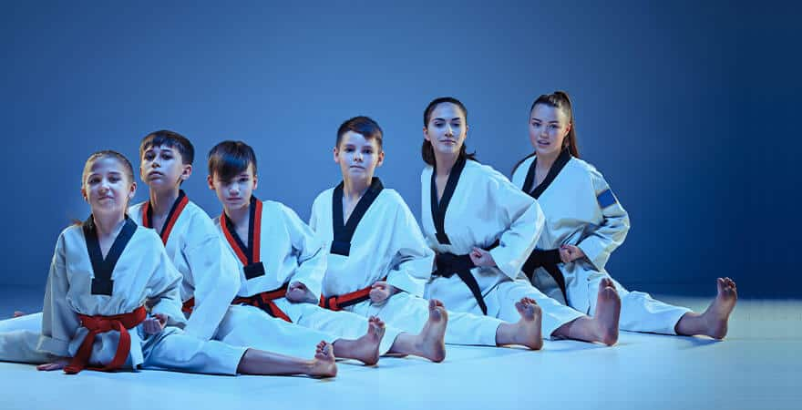 Martial Arts Lessons for Kids in __CITY__ __STATE__ - Kids Group Splits
