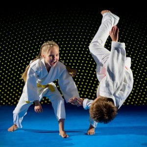 Martial Arts Lessons for Kids in __CITY__ __STATE__ - Judo Toss Kids Girl