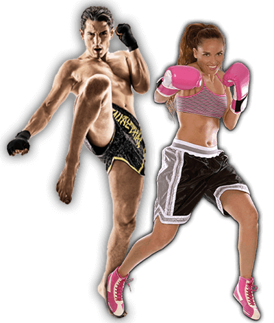 Fitness Kickboxing Lessons for Adults in __CITY__ __STATE__ - Kickboxing Men and Women Banner Page